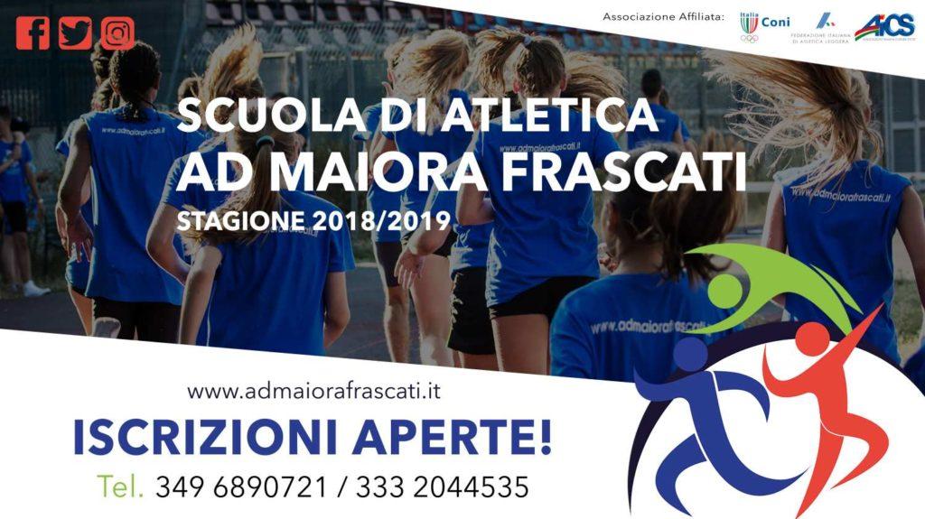 Poster Inizio Scuola Atletica1500